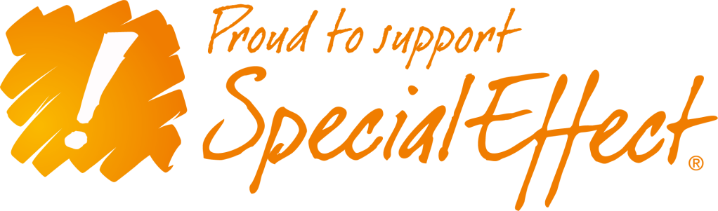 Proud to support Special effect logo